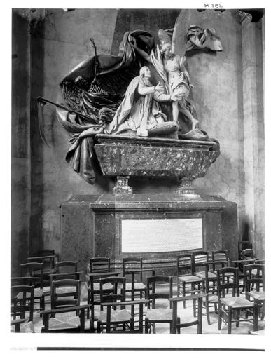 Cénotaphe : mausolée de Jean-Baptiste Languet de Gergy, curé de Saint-Sulpice
