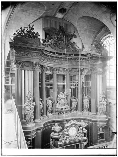 Vue du buffet d'orgues