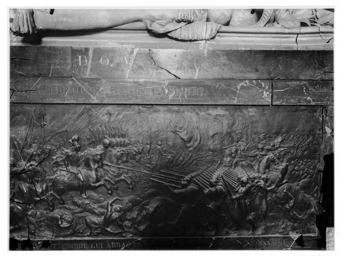 Bas-relief du tombeau de Jean Casimir, roi de Pologne
