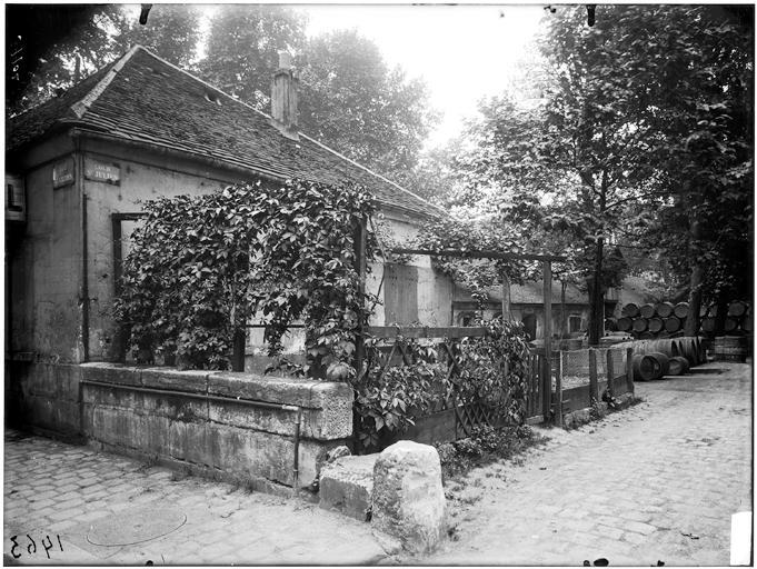 Cour Saint-Julien, rue Gallois