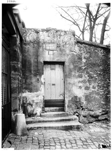 Vue extérieure de l'escalier