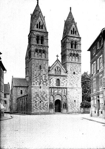Eglise paroissiale Sainte-Foy, ancien prieuré de bénédictins et collège de Jésuites
