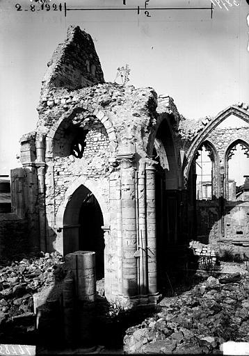 Bras nord du transept, intérieur