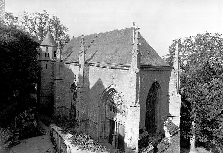 Chapelle Sainte-Barbe et maison du garde
