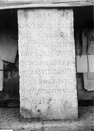 Inscription gallo-romaine