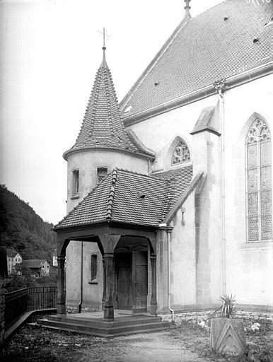 Porche latéral