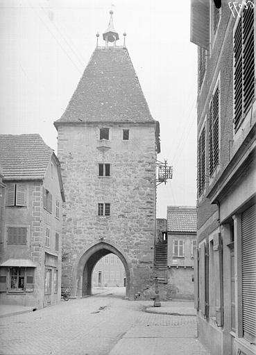 Porte de la Ville (ancienne), dite de Strasbourg