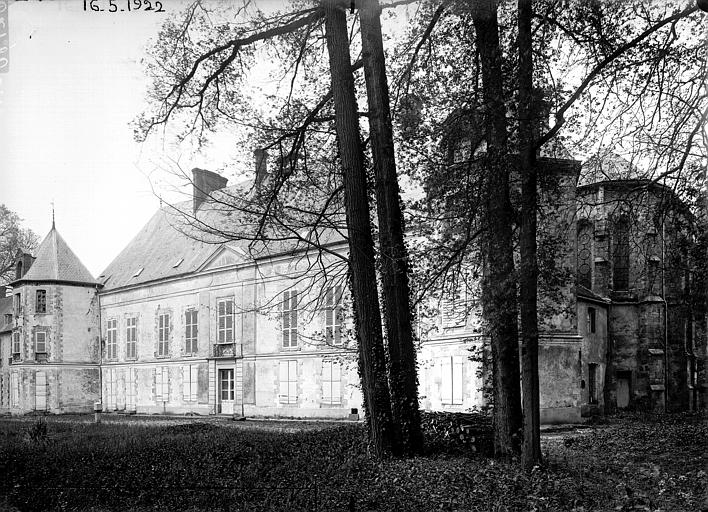 Château et chapelle, ensemble