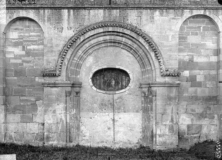 Eglise, portail ouest