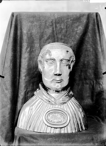 Buste-reliquaire : saint Théau