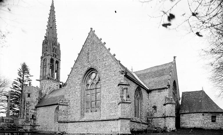 Clocher et bras sud du transept