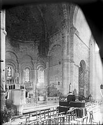 Choeur et bras sud du transept