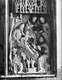 Albâtre : Adoration des mages