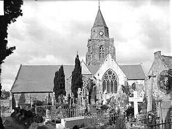 Prieuré-cure saint Laurent puis église paroissiale saint Suliac (Saint-Suliac)