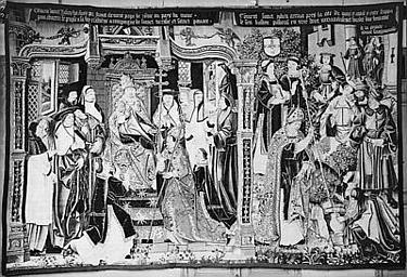 3 pièces murales : La Légende de saint Julien