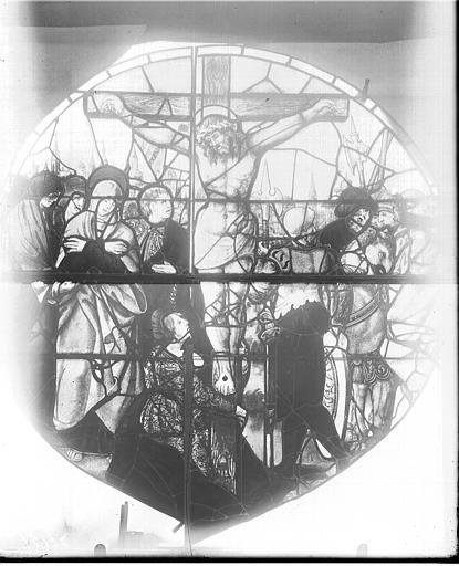 Vitrail, fenêtre C, tympan