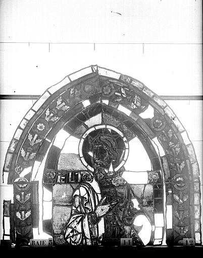 Vitrail, abside côté nord, troisième fenêtre