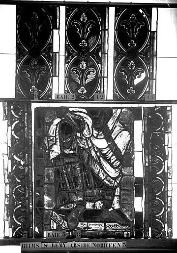 Vitrail, abside nord, troisième fenêtre