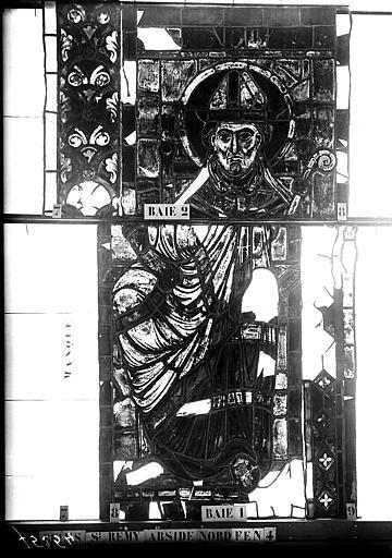 Vitrail, abside nord, quatrième fenêtre