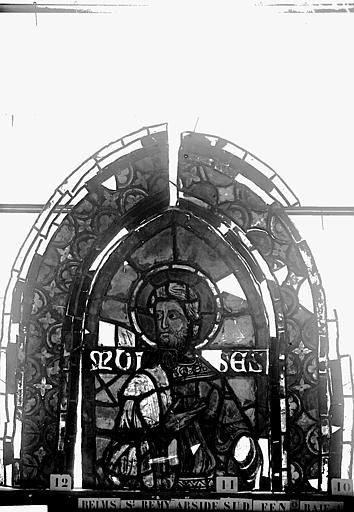 Vitrail, abside sud, deuxième fenêtre