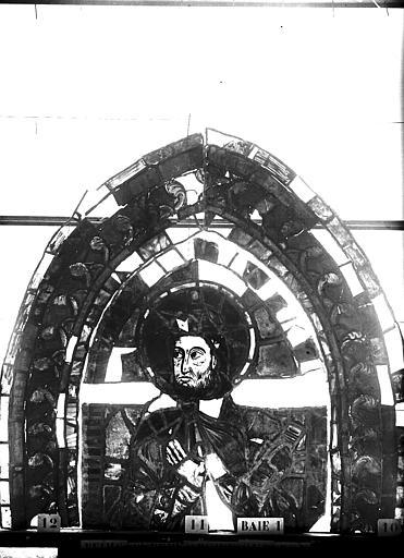 Vitrail, abside sud, troisième fenêtre