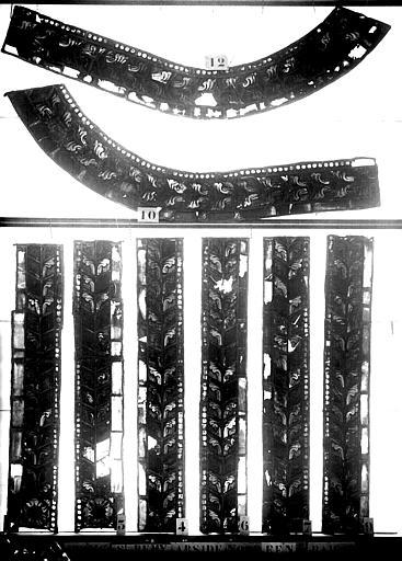 Vitrail, abside sud, cinquième fenêtre