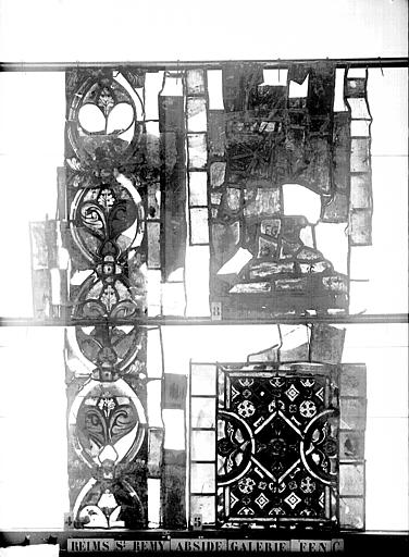 Vitrail, abside, galerie, fenêtre G