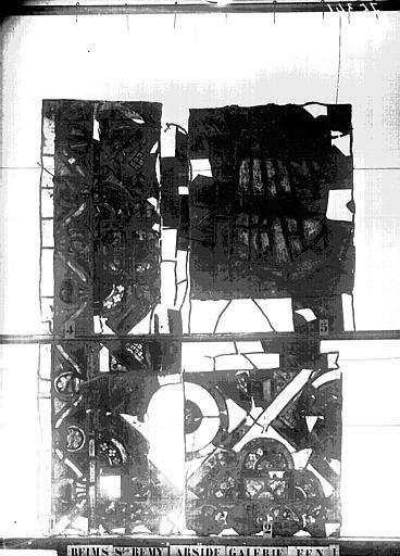 Vitrail, abside, galerie, fenêtre I