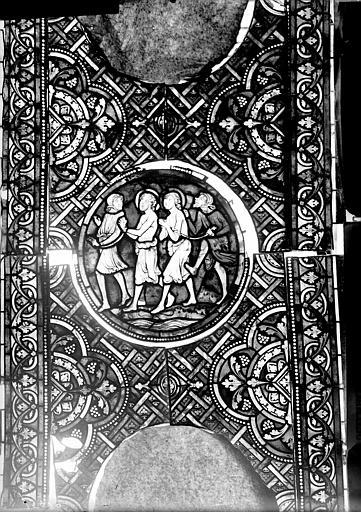 Vitrail, verrière de saint Crépin et saint Crépinien, quatrième panneau