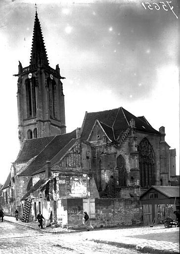 Clocher et abside