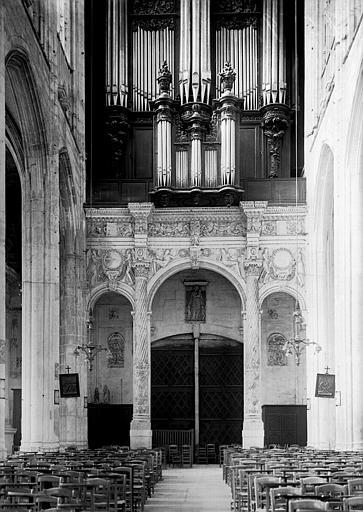 Tribune de l'orgue