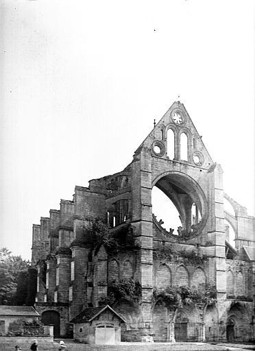 Ruines, vue perspective