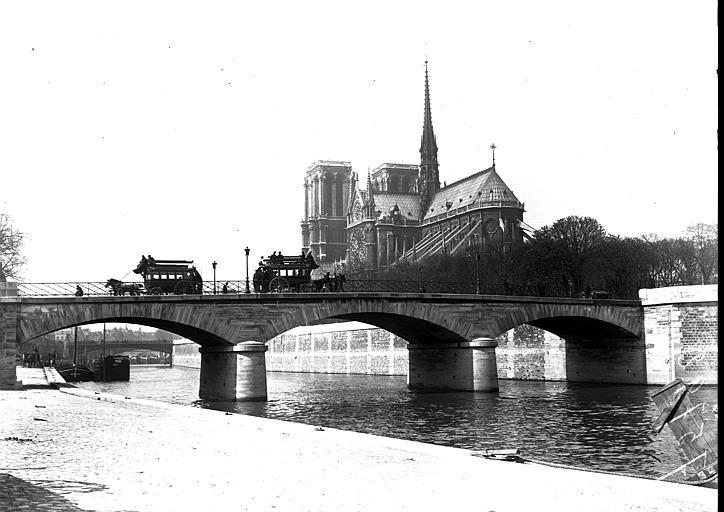 Cathédrale Notre-Dame;Pont de l'Archevêché
