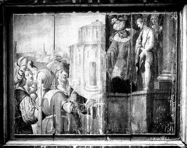 Chapelle Dorée ou de Scarron, panneau peint, Ecce Homo