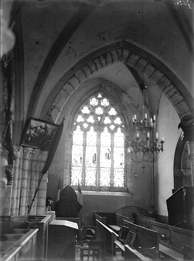 Vitrail, transept sud