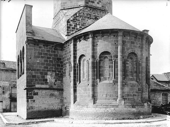 Abside et transept sud
