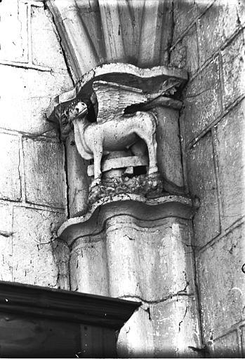 Chapiteau, boeuf de saint Luc
