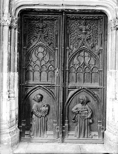 Vantaux (2) de la porte occidentale