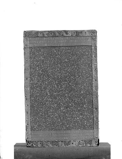Trésor, autel portatif dit de l'abbé Bégon II