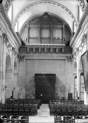 Chapelle, buffet d'orgue