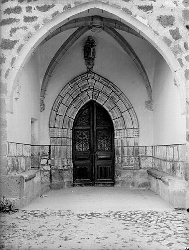 Porche de la façade sud