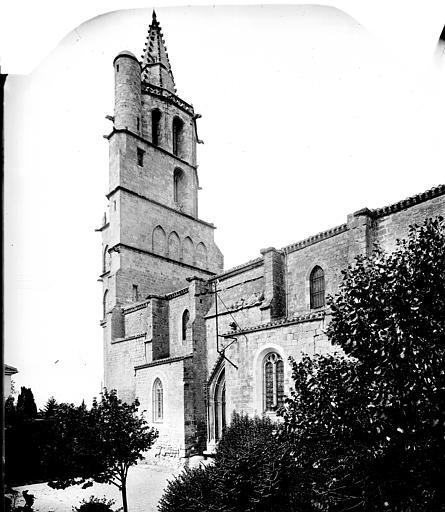 Façade sud : Partie ouest et clocher