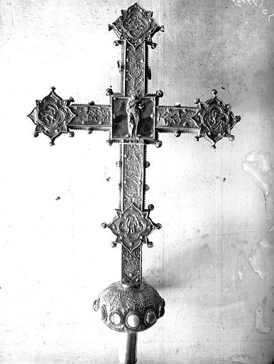 Croix processionnelle (revers)