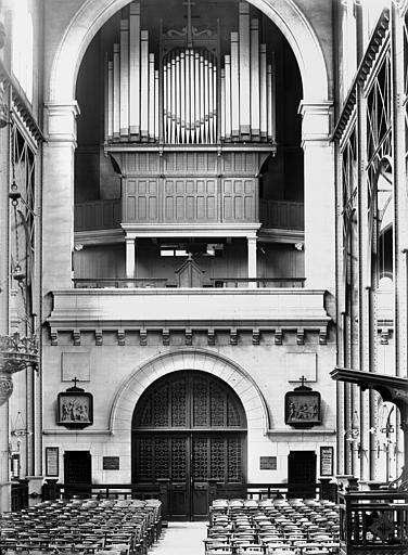 Tribune et buffet d'orgue