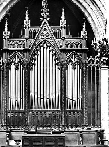Orgue de choeur : partie instrumentale de l'orgue