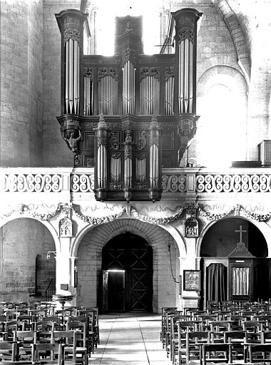 Tribune et buffet d'orgue