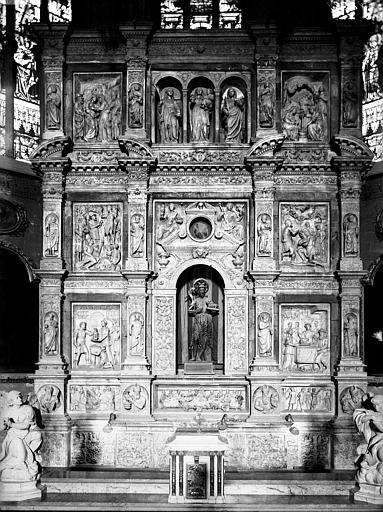 Retable du maître-autel, ensemble