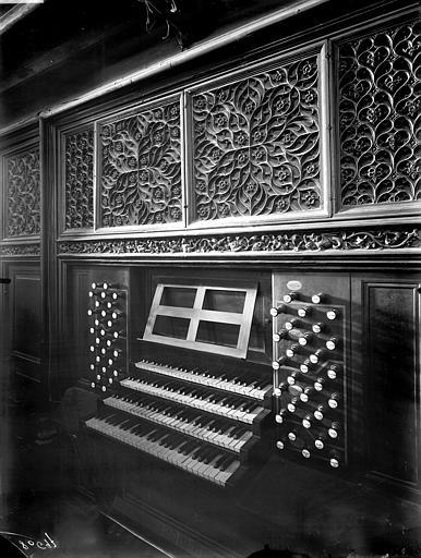 Grandes orgues, clavier