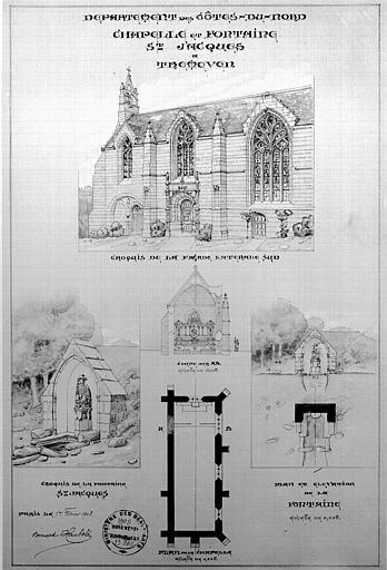 Chapelle Saint-Jacques et sa fontaine