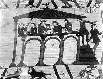 pièce murale (broderie), dite de la reine Mathilde connue sous le nom de Tapisserie de Bayeux
